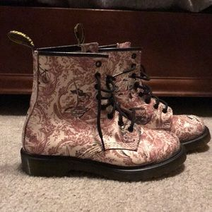 Dr.Martens Pink 1460W Boots